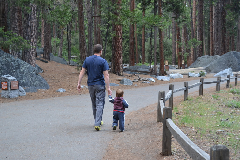 Father & Son in Yosemite
