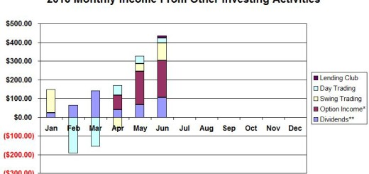 Monthly Income Summary